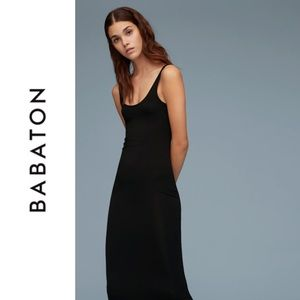 Aritzia Babaton Stretch Cotton Maxi Dress